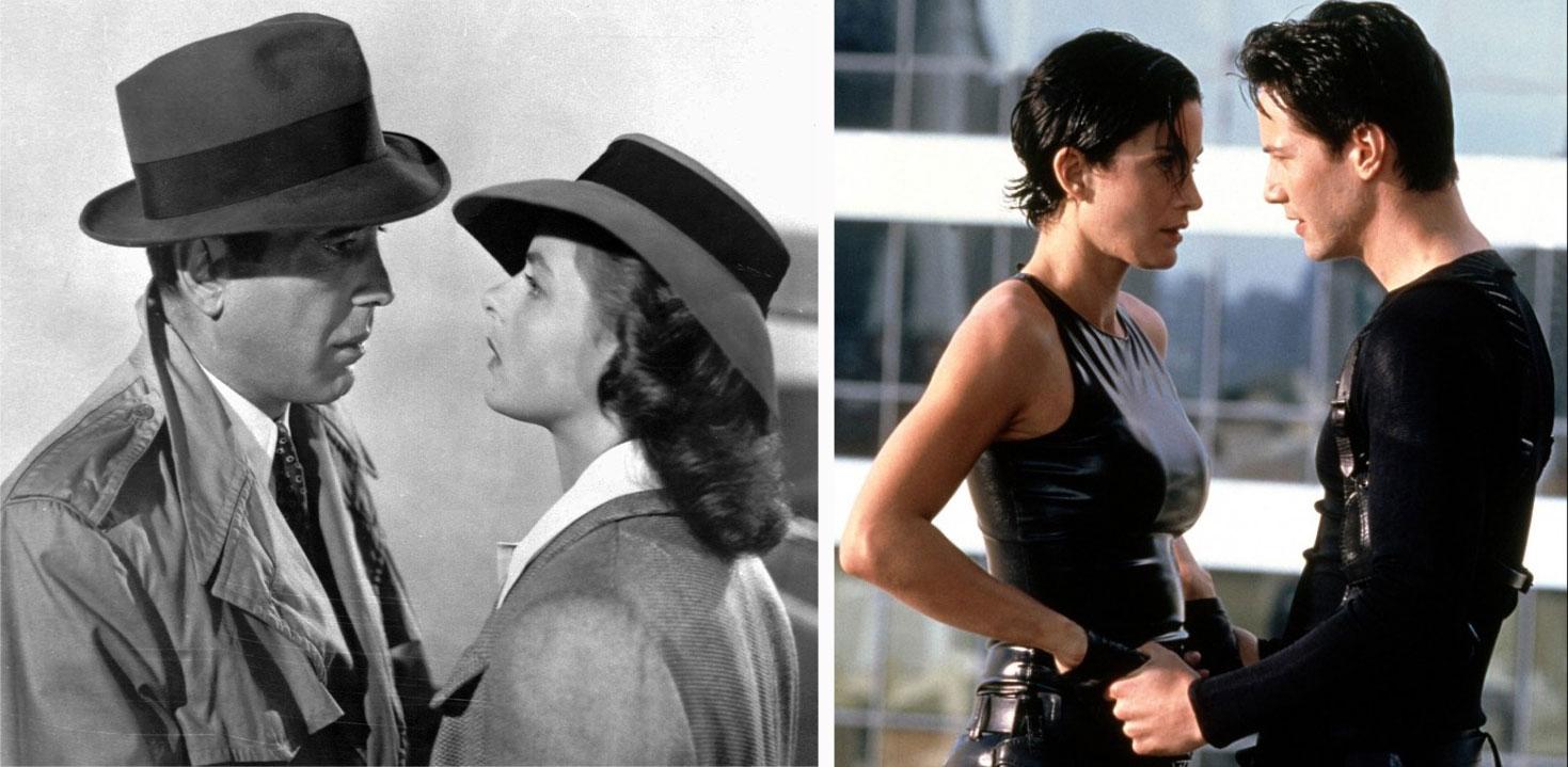 Casablanca y Matrix supusieron respectivamente dos cambios generacionales